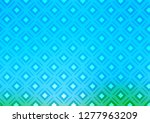 light blue  green vector... | Shutterstock .eps vector #1277963209