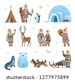 arctic expeditions and... | Shutterstock .eps vector #1277975899