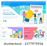 webpage with links of business... | Shutterstock .eps vector #1277975926
