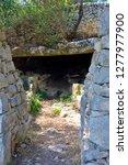catacomb of donnafugata... | Shutterstock . vector #1277977900