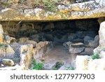 catacomb of donnafugata... | Shutterstock . vector #1277977903