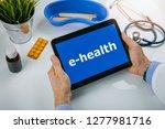ehealth   online communication... | Shutterstock . vector #1277981716