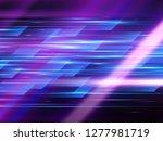 high speed. hi tech. abstract... | Shutterstock .eps vector #1277981719