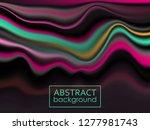 modern colorful flow poster.... | Shutterstock .eps vector #1277981743