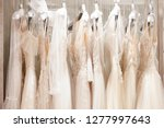 large selection of dresses in... | Shutterstock . vector #1277997643