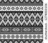 tribal striped seamless pattern....   Shutterstock .eps vector #1278003106