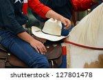 Detail Of Western Horse Rider...