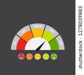 customer satisfaction meter... | Shutterstock . vector #1278039883