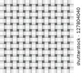 white color basket weave... | Shutterstock .eps vector #127804040