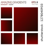 colorful gradients in mahogany  ... | Shutterstock .eps vector #1278040933