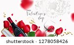 romantic backgrond for st... | Shutterstock .eps vector #1278058426