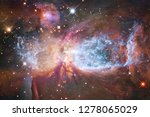 nebula an interstellar cloud of ... | Shutterstock . vector #1278065029