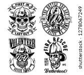 Vintage Labels Set With...