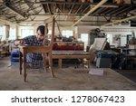 skilled furniture maker sanding ... | Shutterstock . vector #1278067423