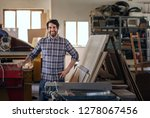 portrait of a skilled... | Shutterstock . vector #1278067456