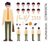 businessman character creation... | Shutterstock .eps vector #1278093076