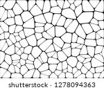 stained glass colorful voronoi... | Shutterstock .eps vector #1278094363
