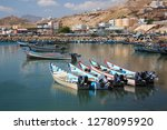 Stock photo the seaport of al mukalla yemen the city is located in the southern part of arabia on the gulf of 1278095920