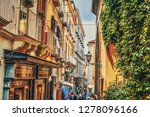 sorrento  italy   may 23  2018  ... | Shutterstock . vector #1278096166