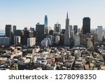 the city of san francisco. this ... | Shutterstock . vector #1278098350