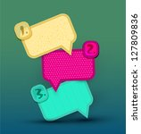 vector vintage design elements... | Shutterstock .eps vector #127809836