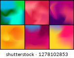 abstract blurred gradient mesh... | Shutterstock .eps vector #1278102853