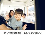 portrait of a smiling and happy ... | Shutterstock . vector #1278104800