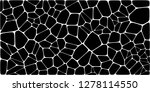 stained glass colorful voronoi... | Shutterstock .eps vector #1278114550