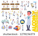 a set of doctor man related to... | Shutterstock .eps vector #1278156373