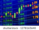 charts of financial...   Shutterstock . vector #1278165640