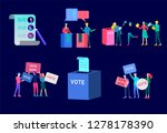 voting and election concept.... | Shutterstock .eps vector #1278178390