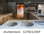 pompeii is the most visited... | Shutterstock . vector #1278212569