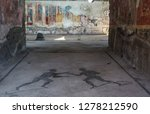 pompeii is the most visited... | Shutterstock . vector #1278212590