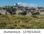 pompeii is the most visited... | Shutterstock . vector #1278212623