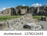 pompeii is the most visited... | Shutterstock . vector #1278212653