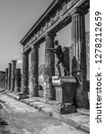 pompeii is the most visited... | Shutterstock . vector #1278212659