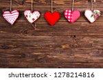 saint valentines day background ... | Shutterstock . vector #1278214816