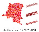 geographic combination of dot... | Shutterstock .eps vector #1278217363