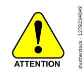 danger warning attention or... | Shutterstock .eps vector #1278234049