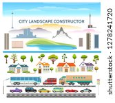 landscape constructor. city...   Shutterstock .eps vector #1278241720
