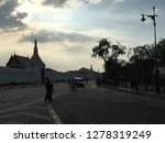 sunset at old royal palace or... | Shutterstock . vector #1278319249