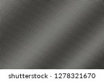 white dot on black halftone... | Shutterstock .eps vector #1278321670
