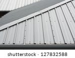 architectural detail of metal... | Shutterstock . vector #127832588