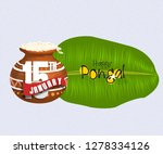 south indian festival pongal... | Shutterstock . vector #1278334126