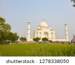 agra. india. 2019. taj mahal ... | Shutterstock . vector #1278338050