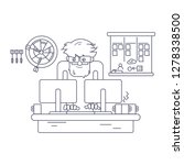 software developer working... | Shutterstock . vector #1278338500