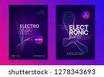 electronic fest. dynamic... | Shutterstock .eps vector #1278343693
