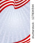 fourth of july background... | Shutterstock .eps vector #127834544