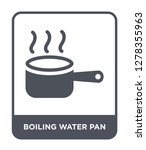 boiling water pan icon vector... | Shutterstock .eps vector #1278355963