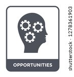 opportunities icon vector on... | Shutterstock .eps vector #1278361903